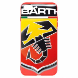 Чехол для iPhone 8 Plus FIAT Abarth