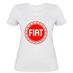 Женская Fiat logo - FatLine