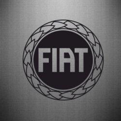 Наклейка Fiat logo - FatLine