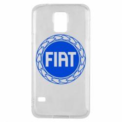 Чохол для Samsung S5 Fiat logo