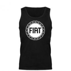 Мужская майка Fiat logo - FatLine