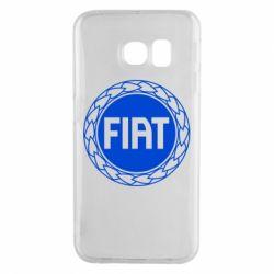Чохол для Samsung S6 EDGE Fiat logo