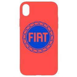 Чохол для iPhone XR Fiat logo