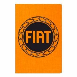 Блокнот А5 Fiat logo