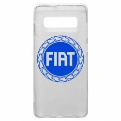 Чохол для Samsung S10+ Fiat logo