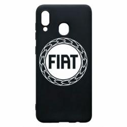 Чохол для Samsung A20 Fiat logo
