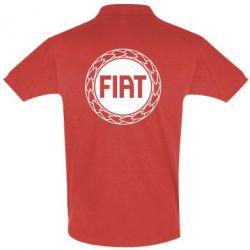 Футболка Поло Fiat logo - FatLine