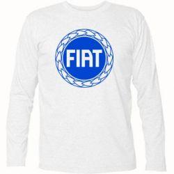 Футболка с длинным рукавом Fiat logo - FatLine