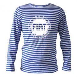 Тельняшка с длинным рукавом Fiat logo - FatLine