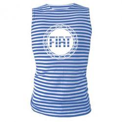 Майка-тельняшка Fiat logo - FatLine