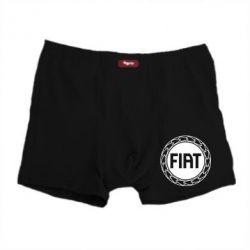 Мужские трусы Fiat logo - FatLine