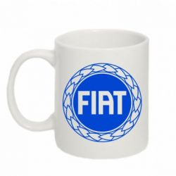 Кружка 320ml Fiat logo - FatLine