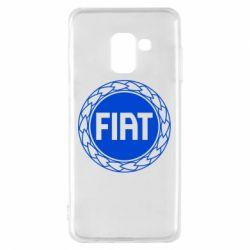 Чохол для Samsung A8 2018 Fiat logo