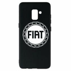 Чохол для Samsung A8+ 2018 Fiat logo