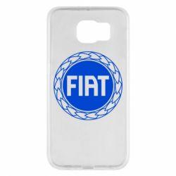 Чохол для Samsung S6 Fiat logo