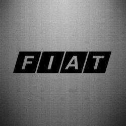 Наклейка Fiat