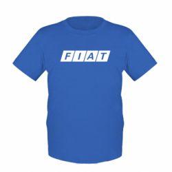 Детская футболка Fiat - FatLine