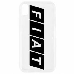 Чехол для iPhone XR Fiat