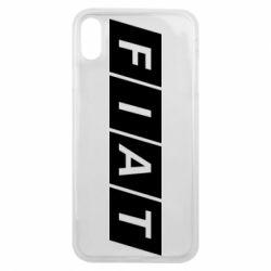 Чехол для iPhone Xs Max Fiat