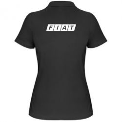 Женская футболка поло Fiat - FatLine