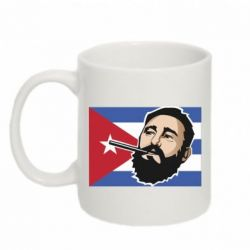 Кружка 320ml Fidel Castro Art - FatLine