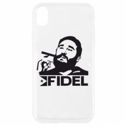 Чохол для iPhone XR Fidel Castro