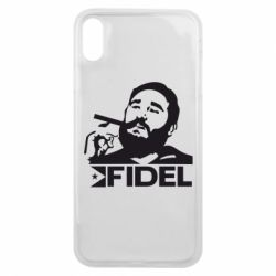 Чохол для iPhone Xs Max Fidel Castro
