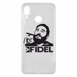 Чехол для Huawei P Smart Plus Fidel Castro - FatLine
