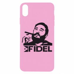 Чохол для iPhone X/Xs Fidel Castro