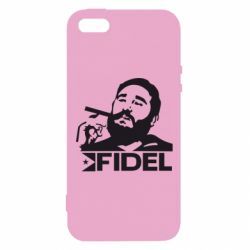 Чохол для iphone 5/5S/SE Fidel Castro