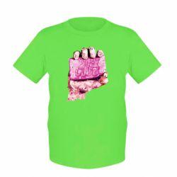 Детская футболка Fight Club Art - FatLine