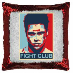 Подушка-хамелеон Fight Club Tyler Durden