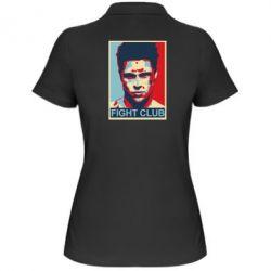 Женская футболка поло Fight Club Tyler Durden - FatLine