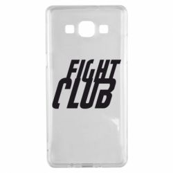 Чехол для Samsung A5 2015 Fight Club - FatLine