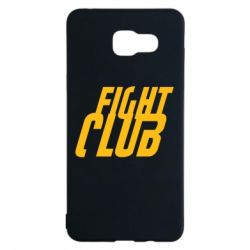 Чехол для Samsung A5 2016 Fight Club - FatLine