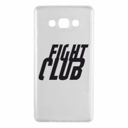 Чехол для Samsung A7 2015 Fight Club - FatLine