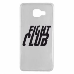 Чехол для Samsung A7 2016 Fight Club - FatLine