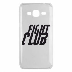 Чехол для Samsung J3 2016 Fight Club - FatLine
