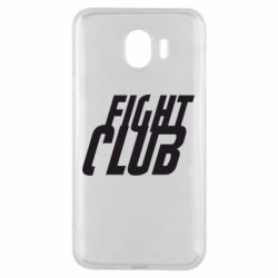 Чехол для Samsung J4 Fight Club - FatLine