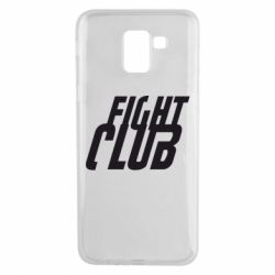 Чехол для Samsung J6 Fight Club - FatLine