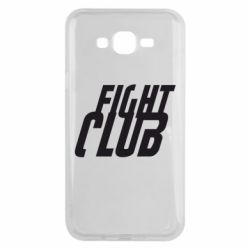Чехол для Samsung J7 2015 Fight Club - FatLine
