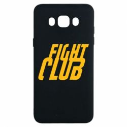 Чехол для Samsung J7 2016 Fight Club - FatLine