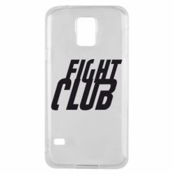 Чехол для Samsung S5 Fight Club - FatLine