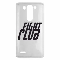 Чехол для LG G3 mini/G3s Fight Club - FatLine