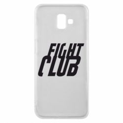 Чехол для Samsung J6 Plus 2018 Fight Club - FatLine