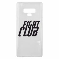 Чехол для Samsung Note 9 Fight Club - FatLine