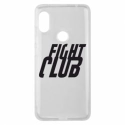 Чехол для Xiaomi Redmi Note 6 Pro Fight Club - FatLine