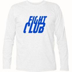 Футболка с длинным рукавом Fight Club - FatLine