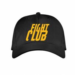 Детская кепка Fight Club - FatLine
