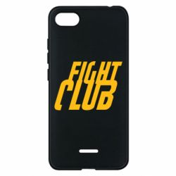 Чехол для Xiaomi Redmi 6A Fight Club - FatLine